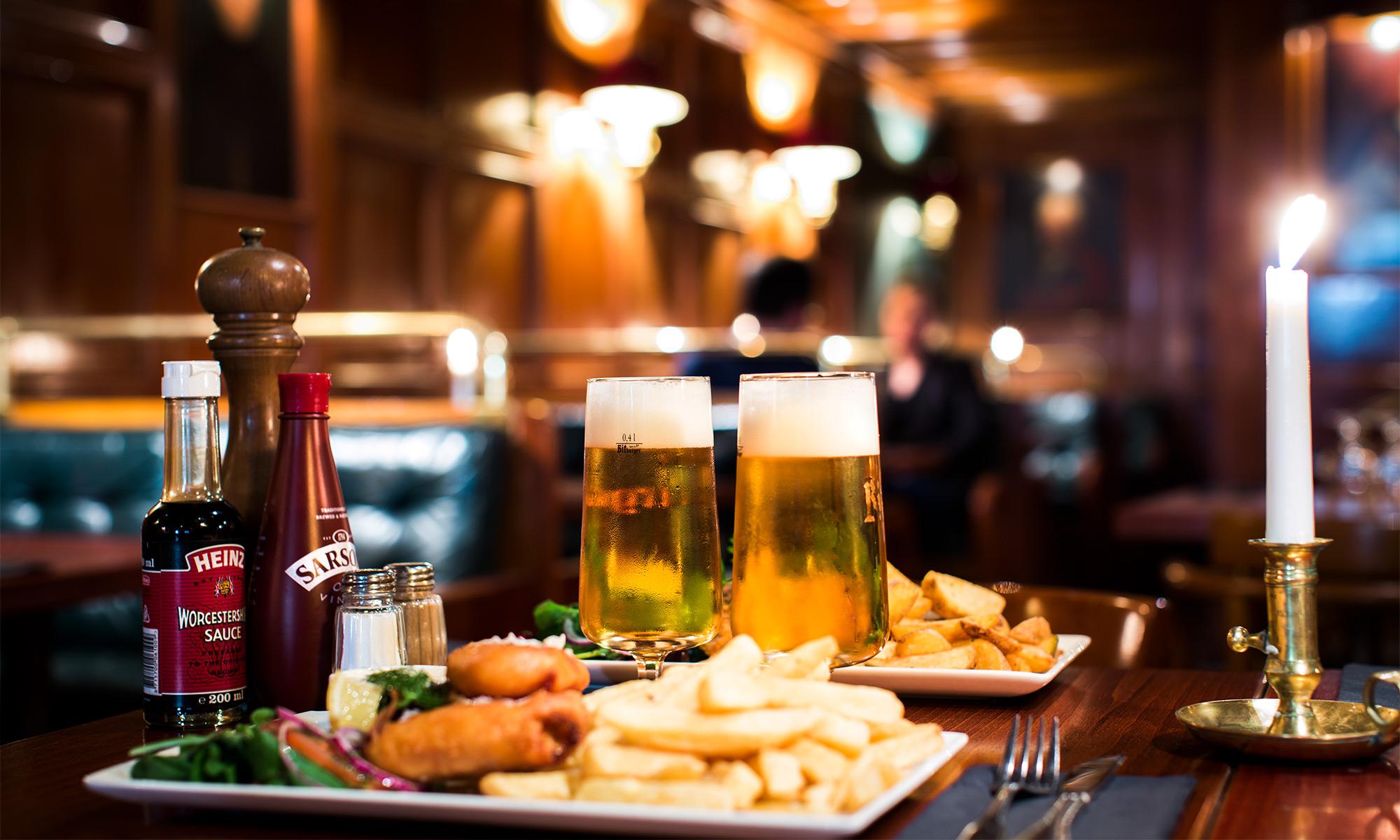 Lilla Londons klassiker och öl